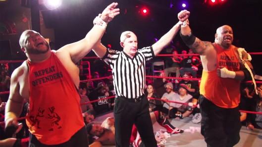 Da Hit Squad. Image: Beyond Wrestling