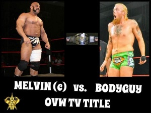 Melvin vs Bodyguy