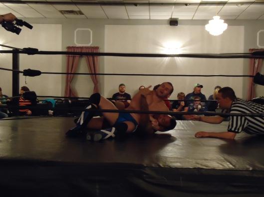 Solid Mat Wrestling.  Image: The Professor's Co-Conspirator