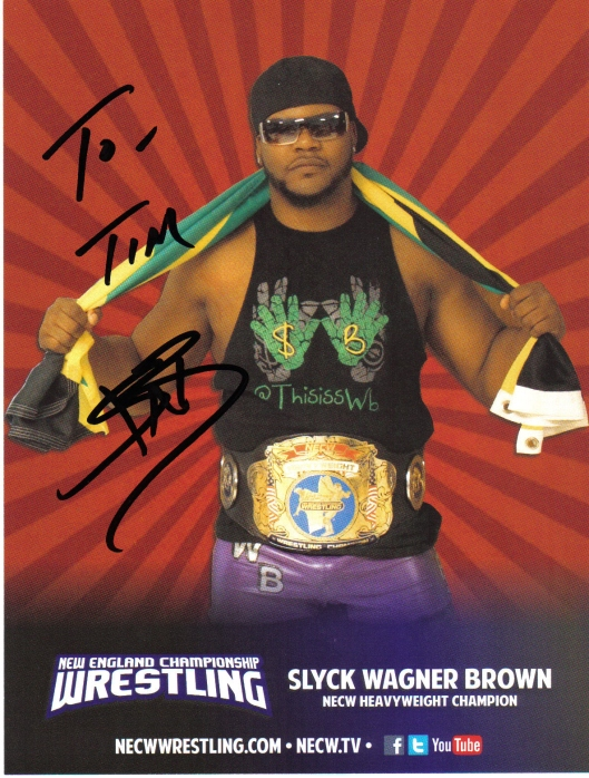 Slyck Wagner Brown.  Image by: NECW.  From The Professor's Private Colleciton