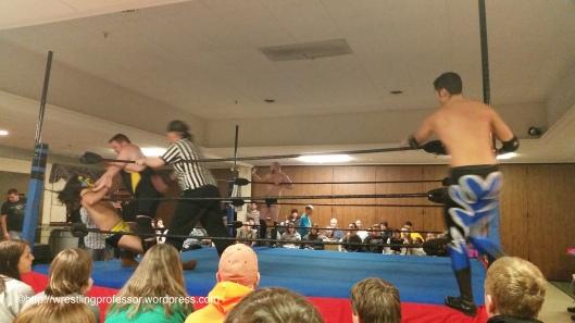 Punishment. Image © The Wrestling Professor