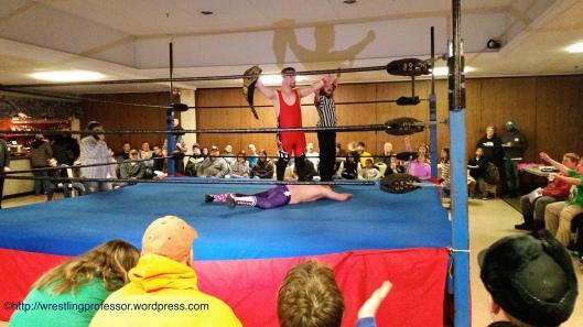 Still Champion. Image © The Wrestling Professor