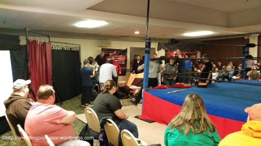Second Table. Image © The Wrestling Professor