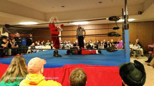 It Took Santa 30 Seconds. Image © The Wrestling Professor