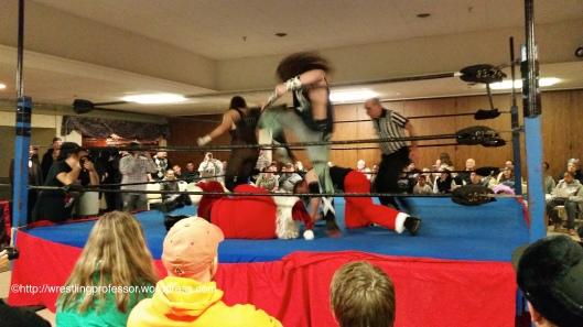 Creepy Kids Beatdown. Image © The Wrestling Professor