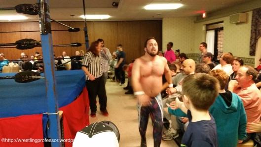 Winner. Image © The Wrestling Professor