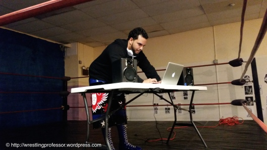 D.J. A.C. Image © The Wrestling Professor