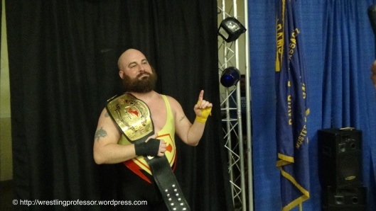 Superstar Shawn Candido - SPW Heavyweight Champion.  Image: The Professor