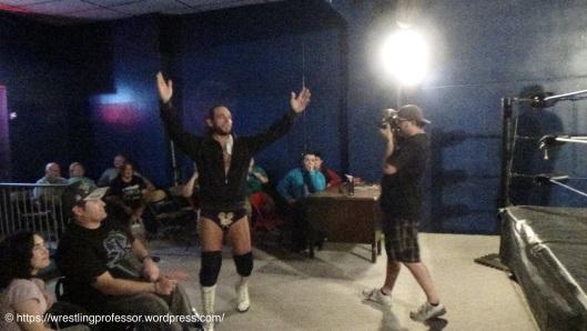 The Wrestling God. Image: The Professor