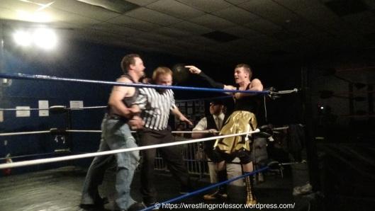 Showing Wrestling Smarts. Image: The Professor