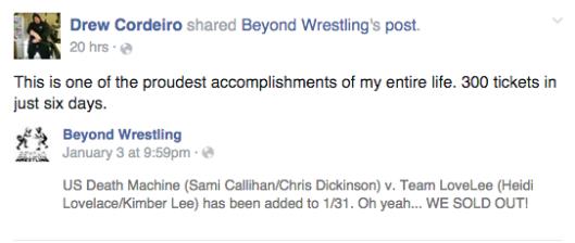 Image: Beyond Wrestling