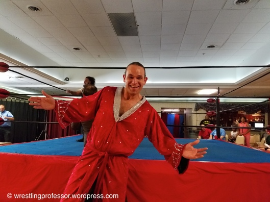 Sensational Scott Levesque - New England's Premiere Wrestler. Image: The Professor