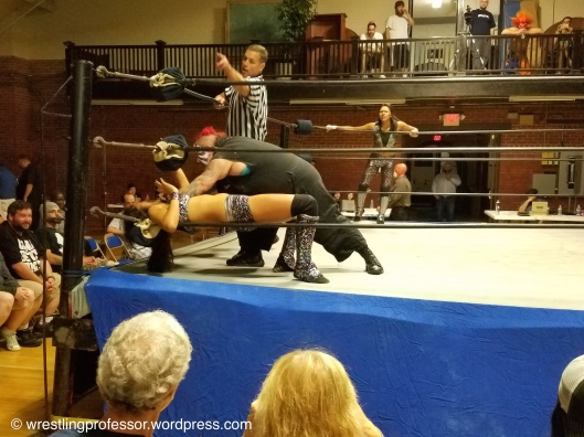 Toxis Inflicts Agony. Image: The Wrestling Professor