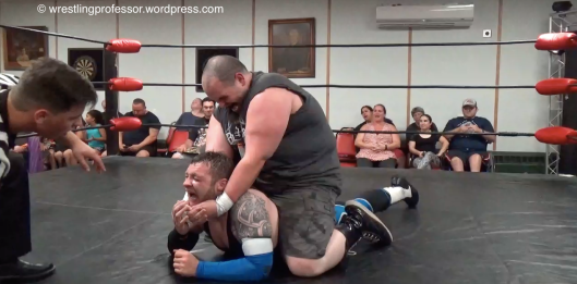 Nasty Hold. Image: The Wrestling Professor