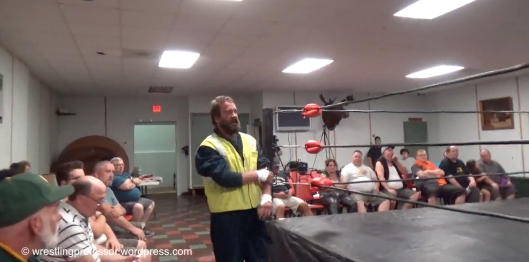 Rob Roberts. Image: The Wrestling Professor