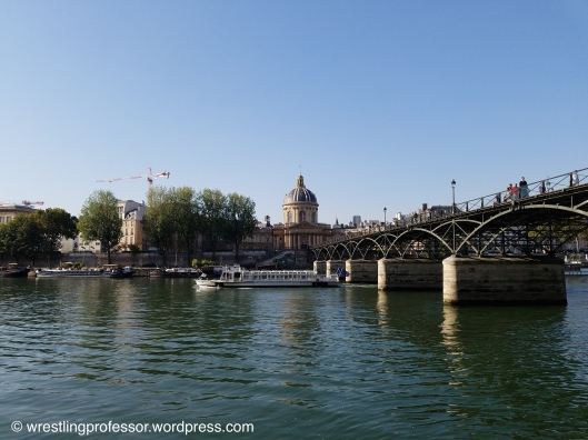 Institute de France and Pont des Arts Paris. Image: The Wrestling Professor