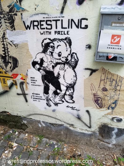 Brussels Street Art. Image: The Wrestling Professor