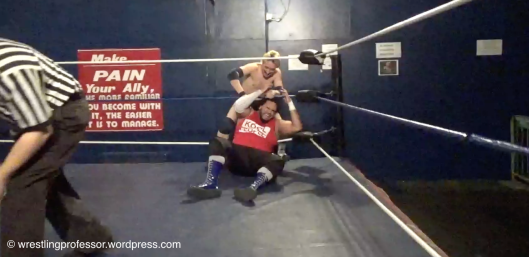 Broad Woops DJ AC. Image: The Wrestling Professor
