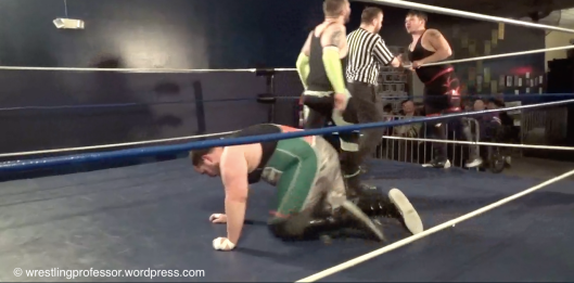 Matrix Confronts Cruise. Image: The Wrestling Professor