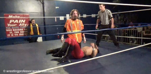 The Trash Man Punishes. Image: The Wrestling Professor